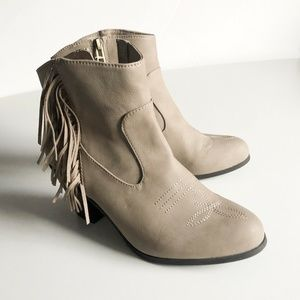 Sam And Libby Ankle booties  Size 7 1/2